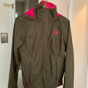 Northface Resolve Raincoat and Windbreaker